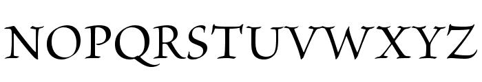 BriosoPro-MediumSubh Font UPPERCASE