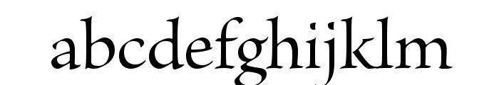 BriosoPro-MediumSubh Font LOWERCASE