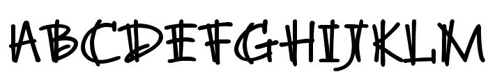 BrunoJBStd-Bold Font UPPERCASE