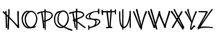 BrunoJBStd Font UPPERCASE