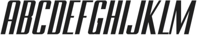 BRANCHE Italic ttf (400) Font UPPERCASE