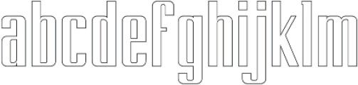 BRANCHE otf (400) Font LOWERCASE