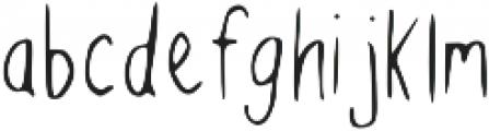 BREEZYFixed otf (400) Font LOWERCASE