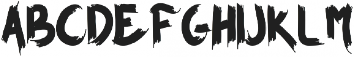 BROWN FOXY otf (400) Font UPPERCASE