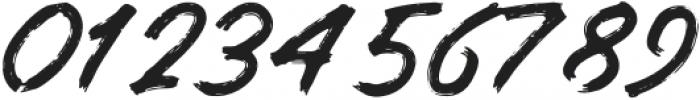 BRUSHERA Standard otf (400) Font OTHER CHARS