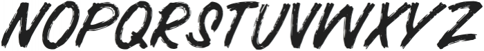 BRUSHERA Standard otf (400) Font UPPERCASE