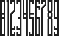 BRUTAAL XX ttf (400) Font OTHER CHARS