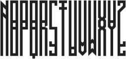 BRUTAAL XX ttf (400) Font UPPERCASE