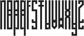 BRUTAAL XX ttf (400) Font LOWERCASE