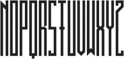 BRUTAAL ttf (400) Font UPPERCASE