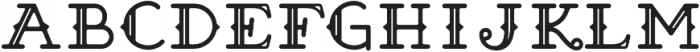 Brace Slab Deco Inline otf (400) Font LOWERCASE