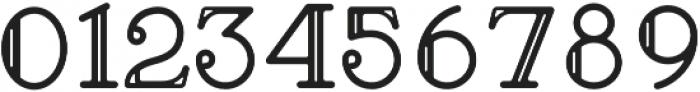 Brace Slab Inline otf (400) Font OTHER CHARS
