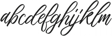 Brachial yt Two ttf (400) Font LOWERCASE