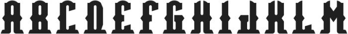 Bradford Regular otf (400) Font LOWERCASE