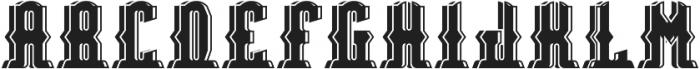 Bradford ShadowAndLight otf (300) Font LOWERCASE