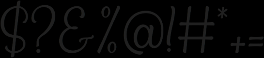 Bradlay otf (400) Font OTHER CHARS