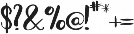 Bradley Normal Bold otf (400) Font OTHER CHARS