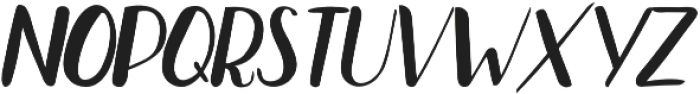Bradley Normal Normal Italic otf (400) Font UPPERCASE