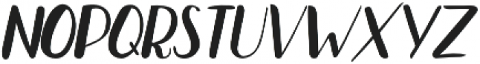 Bradley Normal Normal Italic otf (400) Font LOWERCASE