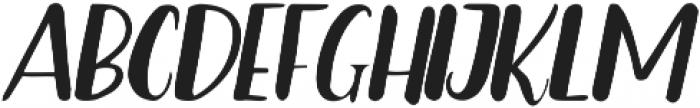 Bradley ttf (400) Font UPPERCASE
