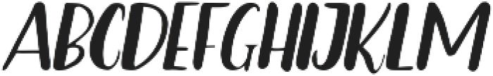 Bradley ttf (400) Font LOWERCASE