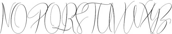 Braidy Lucinda Regular otf (400) Font UPPERCASE