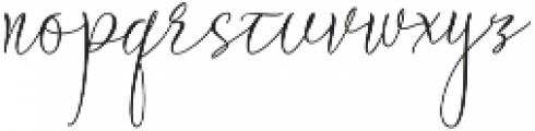 Braidy Lucinda Regular otf (400) Font LOWERCASE