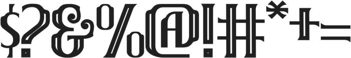 Brainster Outline otf (400) Font OTHER CHARS