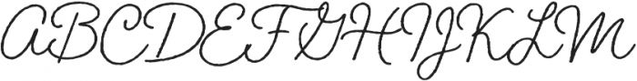Braisetto otf (400) Font UPPERCASE