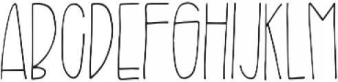 Branch Regular otf (400) Font UPPERCASE