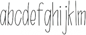 Branch Regular otf (400) Font LOWERCASE