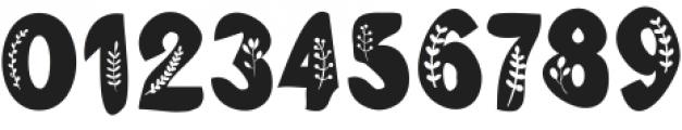 Branch Regular ttf (400) Font OTHER CHARS