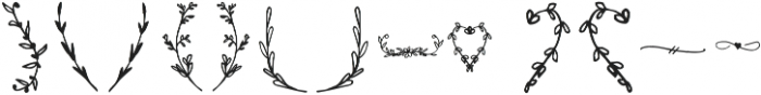 Branches otf (400) Font UPPERCASE