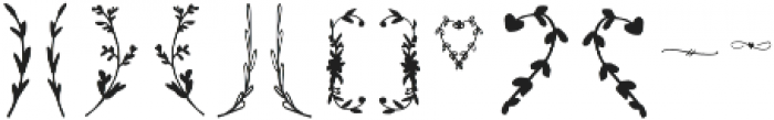 Branches otf (400) Font LOWERCASE