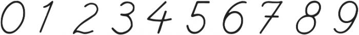 Branco Script Regular otf (400) Font OTHER CHARS