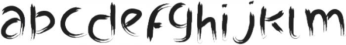 Branda Regular otf (400) Font LOWERCASE