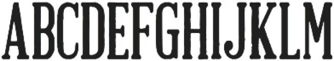 Brandals Regular otf (400) Font UPPERCASE