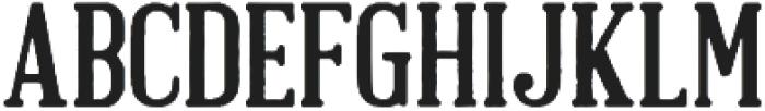 Brandals Regular otf (400) Font LOWERCASE