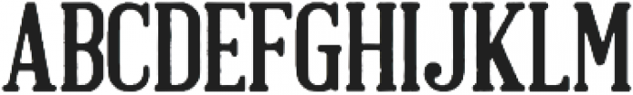 Brandals alternate Regular otf (400) Font LOWERCASE