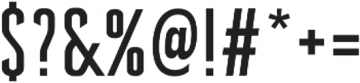 Brandbe Regular otf (400) Font OTHER CHARS