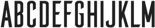 Brandbe Regular otf (400) Font UPPERCASE