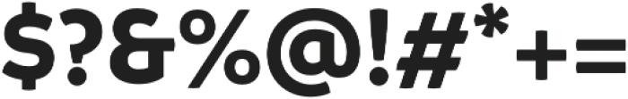 Branding Bold otf (700) Font OTHER CHARS