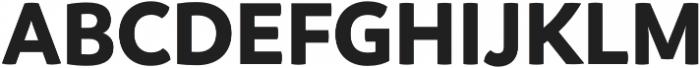 Branding Bold otf (700) Font UPPERCASE