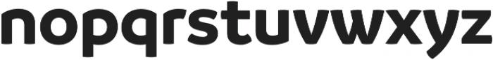 Branding Bold otf (700) Font LOWERCASE