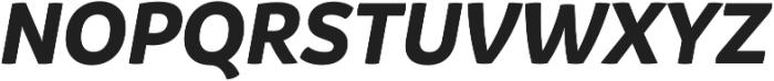 Branding BoldItalic otf (700) Font UPPERCASE