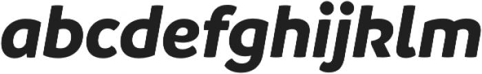 Branding BoldItalic otf (700) Font LOWERCASE