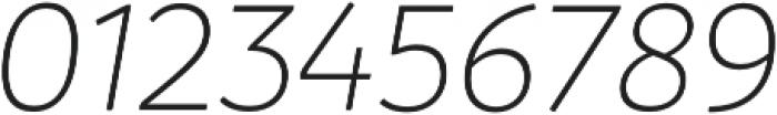 Branding LightItalic otf (300) Font OTHER CHARS