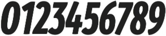 Branding SF Cmp Black It otf (900) Font OTHER CHARS