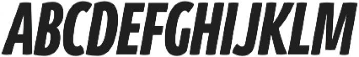 Branding SF Cmp Black It otf (900) Font UPPERCASE