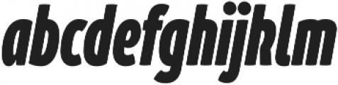 Branding SF Cmp Black It otf (900) Font LOWERCASE